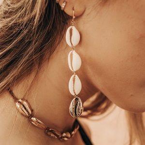 Jewelry - PUKA SHELL EARRINGS
